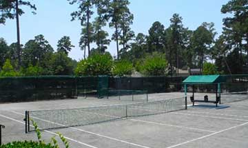 Berkeley Hall Plantation Tennis Courts