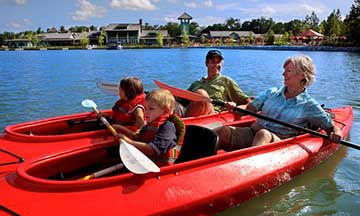 Hampton Lake Kayaking & Canoeing