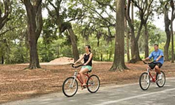 Palmetto Dunes Bike Trails