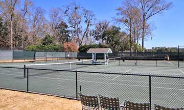 Spring Island Tennis Courts