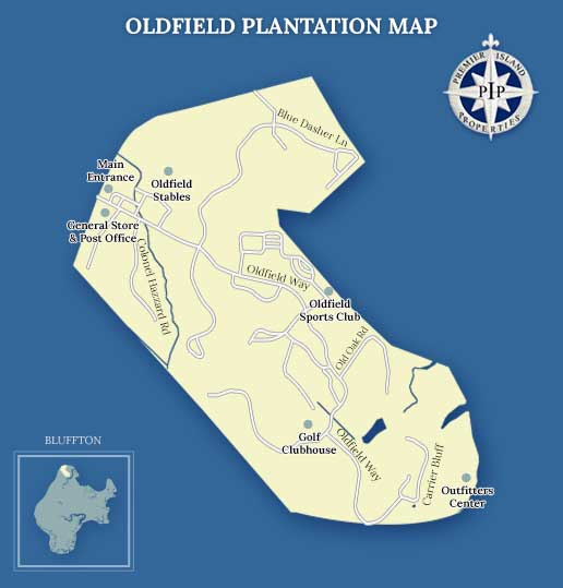 Oldfield Plantation Map