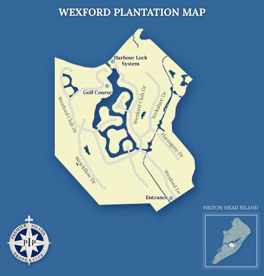Wexford Plantation Map